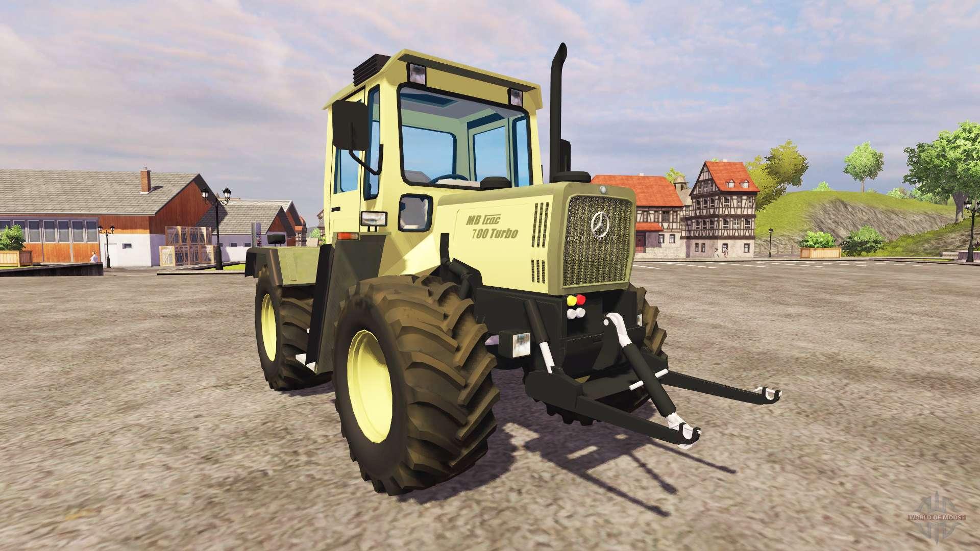 mercedes benz trac 700 turbo for farming simulator 2013. Black Bedroom Furniture Sets. Home Design Ideas