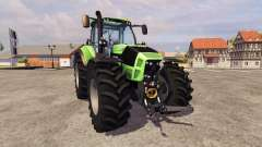 Deutz-Fahr Agrotron 7250 [PloughingSpec] v2.0 for Farming Simulator 2013
