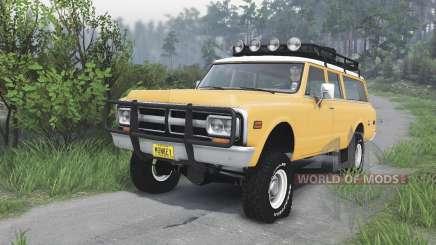 GMC Suburban 1972 [08.11.15] for Spin Tires