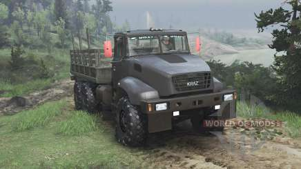 The KrAZ B18.1 [08.11.15] for Spin Tires