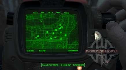 Immersive 4k Map - TERRAIN - Full Squares for Fallout 4