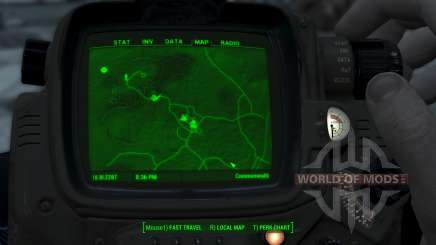Immersive 4k Map - TERRAIN - No Squares for Fallout 4