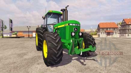 John Deere 4455 v1.1 for Farming Simulator 2013