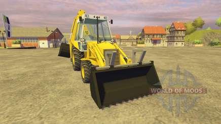 JCB 3CX v2.1 for Farming Simulator 2013