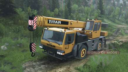 Liebherr LTM 1030 [08.11.15] for Spin Tires