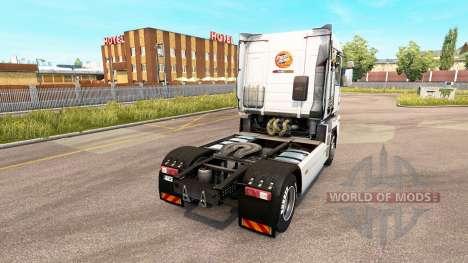 Mezzo Mix skin on tractor Renualt for Euro Truck Simulator 2