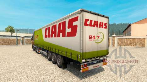 Skin for CLAAS trailer for Euro Truck Simulator 2