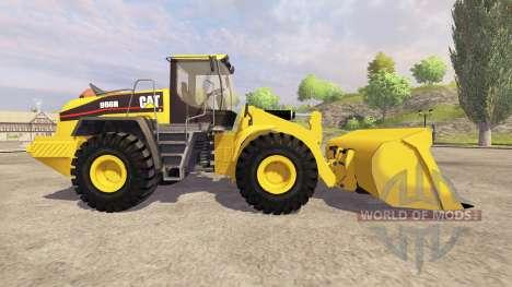 Caterpillar 966H v3.1 for Farming Simulator 2013