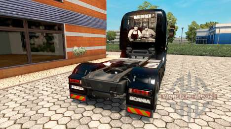 Haudegen skin for Scania truck for Euro Truck Simulator 2