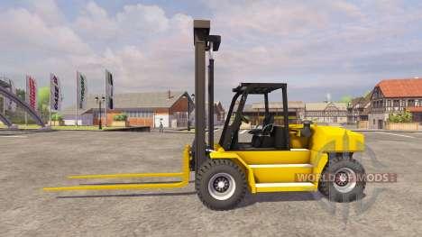 Komatsu EX50 for Farming Simulator 2013