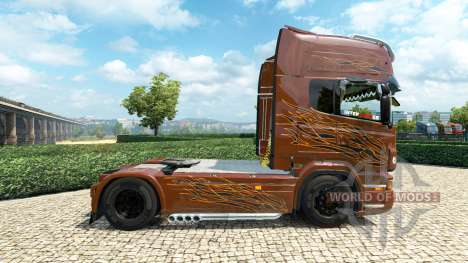 Scania R Black Amber v2.5 for Euro Truck Simulator 2