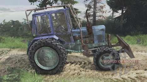 MTZ-82 Belarus [08.11.15] for Spin Tires