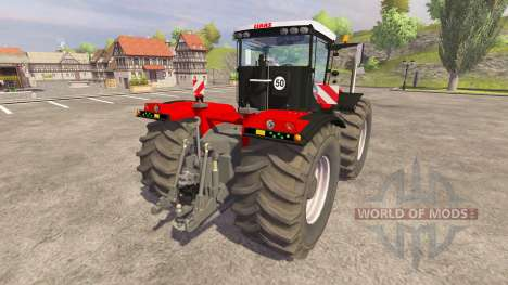 CLAAS Xerion 5000 [red] v1.1 for Farming Simulator 2013