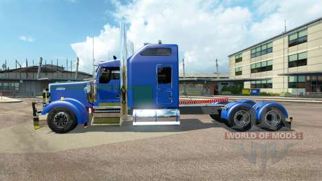 Kenworth W900L [customs] for Euro Truck Simulator 2
