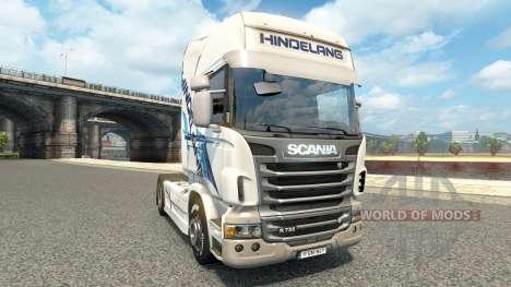 Hindelang skin for Scania truck for Euro Truck Simulator 2