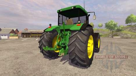 John Deere 8410 v1.1 for Farming Simulator 2013