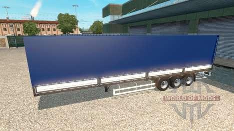 The semi-trailer Tonar v1.5 for Euro Truck Simulator 2