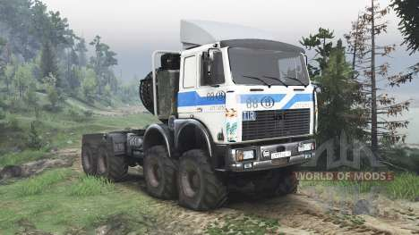 MAZ MZKT 7401 [Turbobit][08.11.15] for Spin Tires