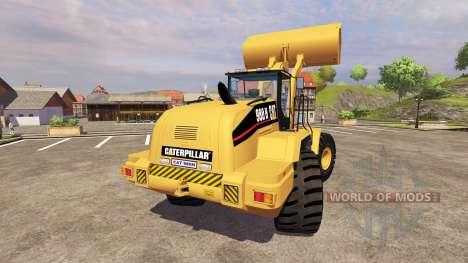 Caterpillar 980H v2.0 for Farming Simulator 2013