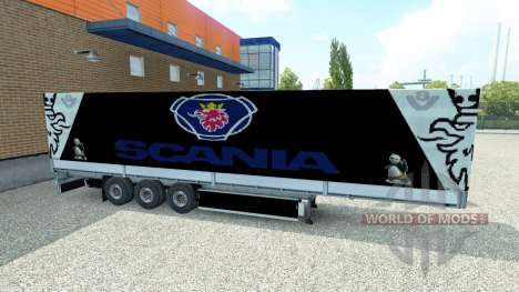 Skin Scania semitrailer for Euro Truck Simulator 2