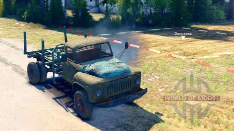 GAZ-52 on the chassis GAZ-63 [13.04.15] for Spin Tires