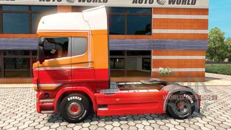 Penta skin for Scania truck for Euro Truck Simulator 2
