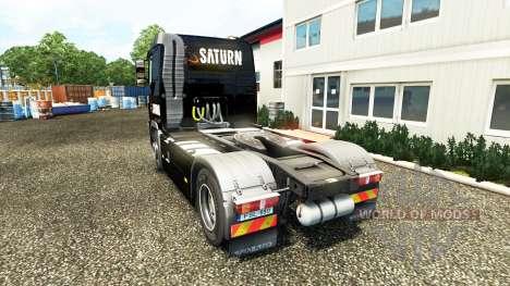 Saturn skin on Volvo truck for Euro Truck Simulator 2