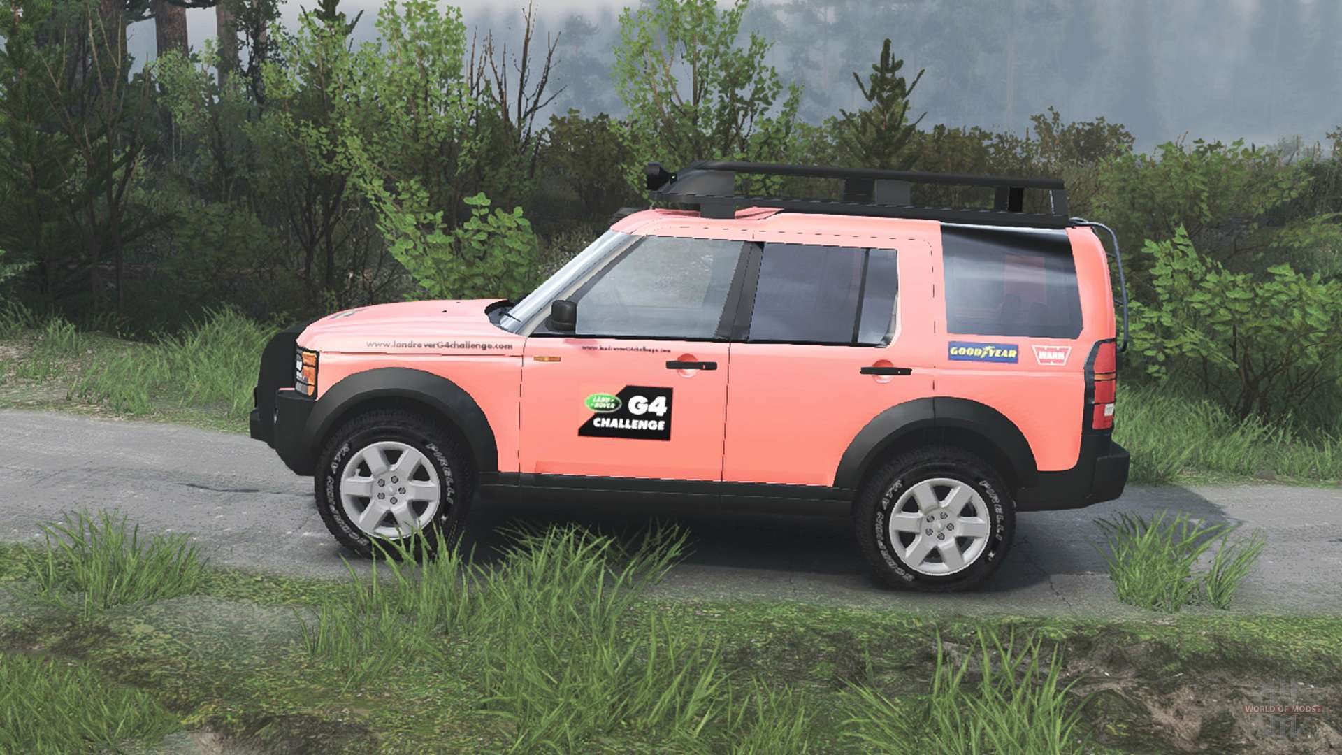 land rover discovery 3 g4 for spin tires. Black Bedroom Furniture Sets. Home Design Ideas