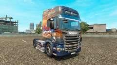 Men Power skin for Scania truck for Euro Truck Simulator 2