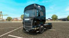 The fast and the furious 6 skin for Scania truck