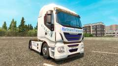 Hartmann Transporte skin for Iveco tractor unit