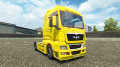 Waberers skin for MAN trucks
