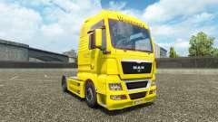 Waberers skin for MAN trucks