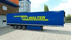 Skin Walter on the trailer
