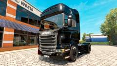BlackBerry skin for Scania truck