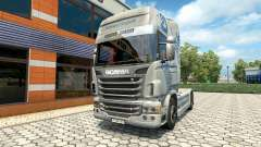Hartmann Transporte skin for Scania truck