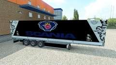 Skin Scania semitrailer