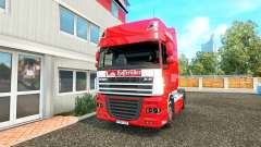 The skin on the Hasseroeder DAF truck