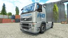 Hartmann Transporte skin for Volvo truck
