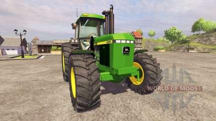 John Deere 4455 v2.1 for Farming Simulator 2013