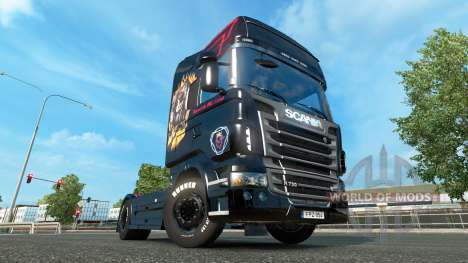 Skin for Scania truck Scania for Euro Truck Simulator 2