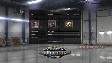 Mod for money for American Truck Simulator