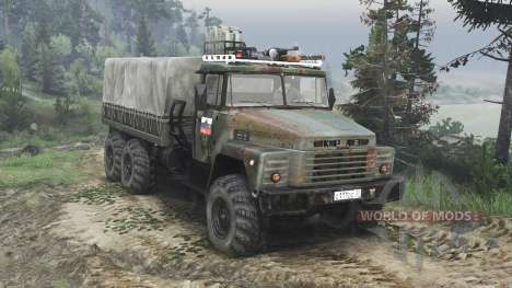 KrAZ-260 [08.11.15] for Spin Tires