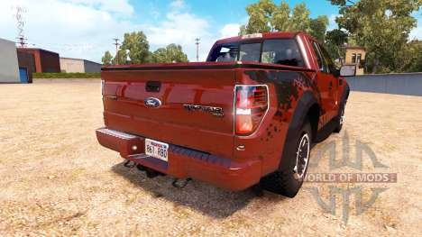 Ford F-150 SVT Raptor v1.1 for American Truck Simulator