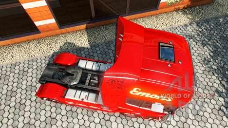 Emons skin for Scania truck for Euro Truck Simulator 2
