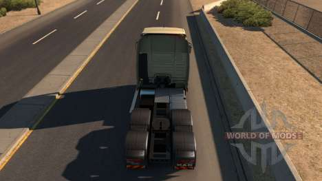 MAN TGX for American Truck Simulator