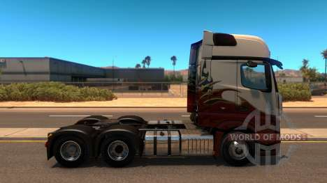 Mercedes Actros 2014 for American Truck Simulator