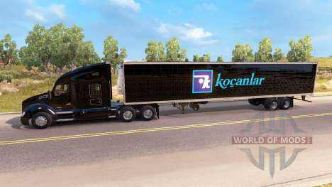 Skin Kocanlar on a Kenworth tractor for American Truck Simulator