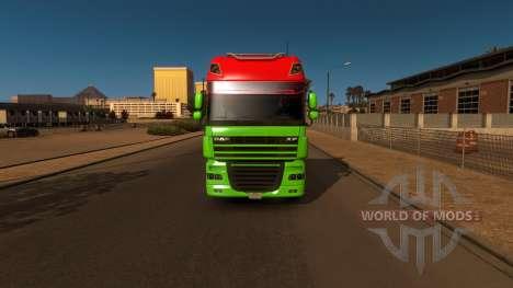 DAF XF for American Truck Simulator