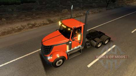 International LoneStar in traffic for American Truck Simulator